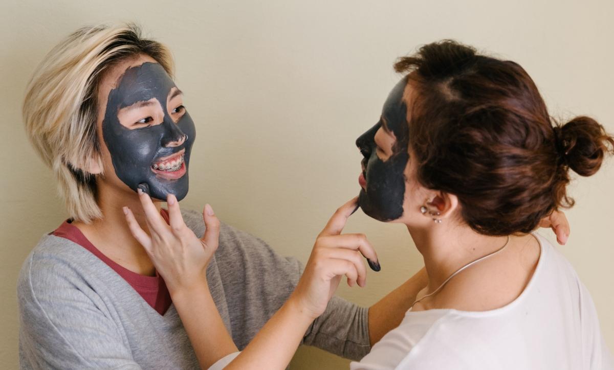 Tipos de formatos de mascarillas negras