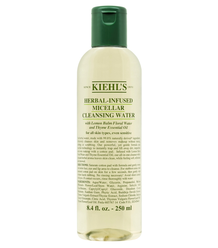 Herbal-Infused Micellar Cleansing Water, Kiehl's