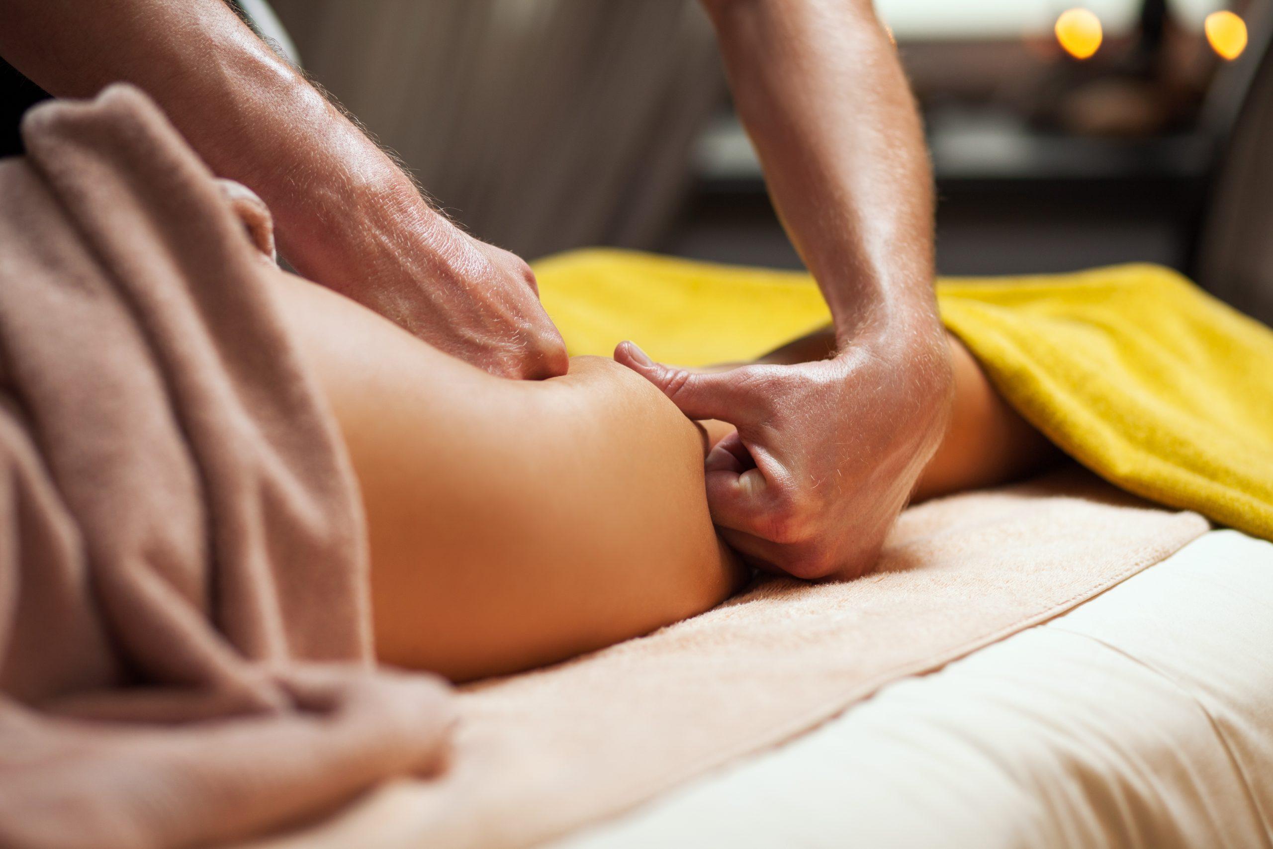 Masajes para eliminar la celulitis