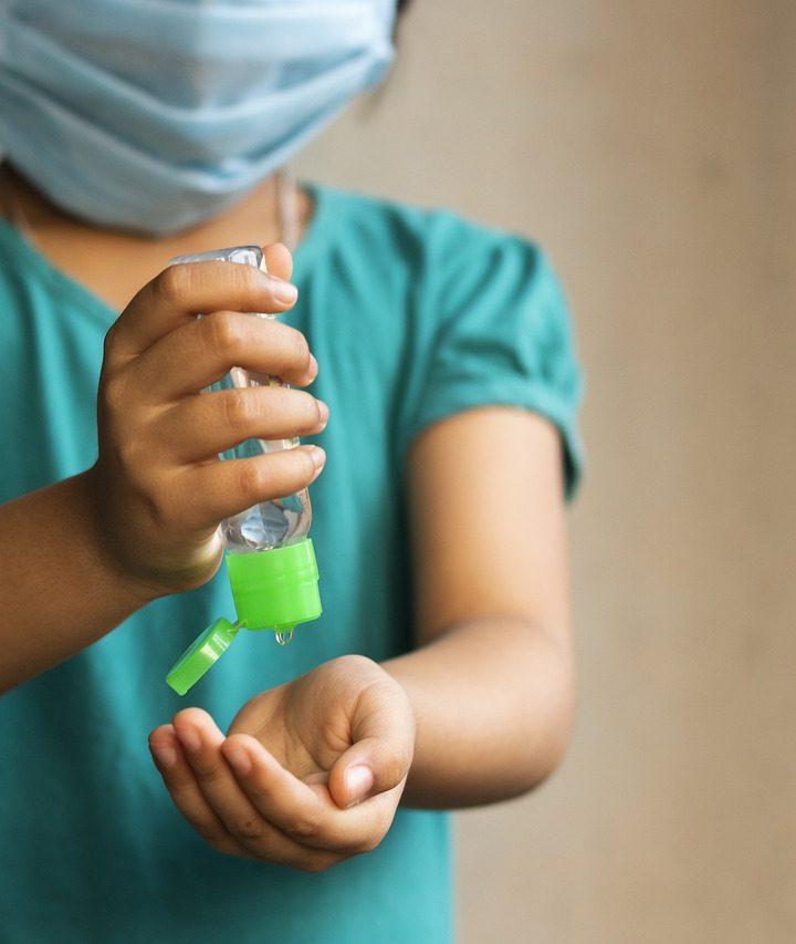 Como hacer desinfectante casero de manos