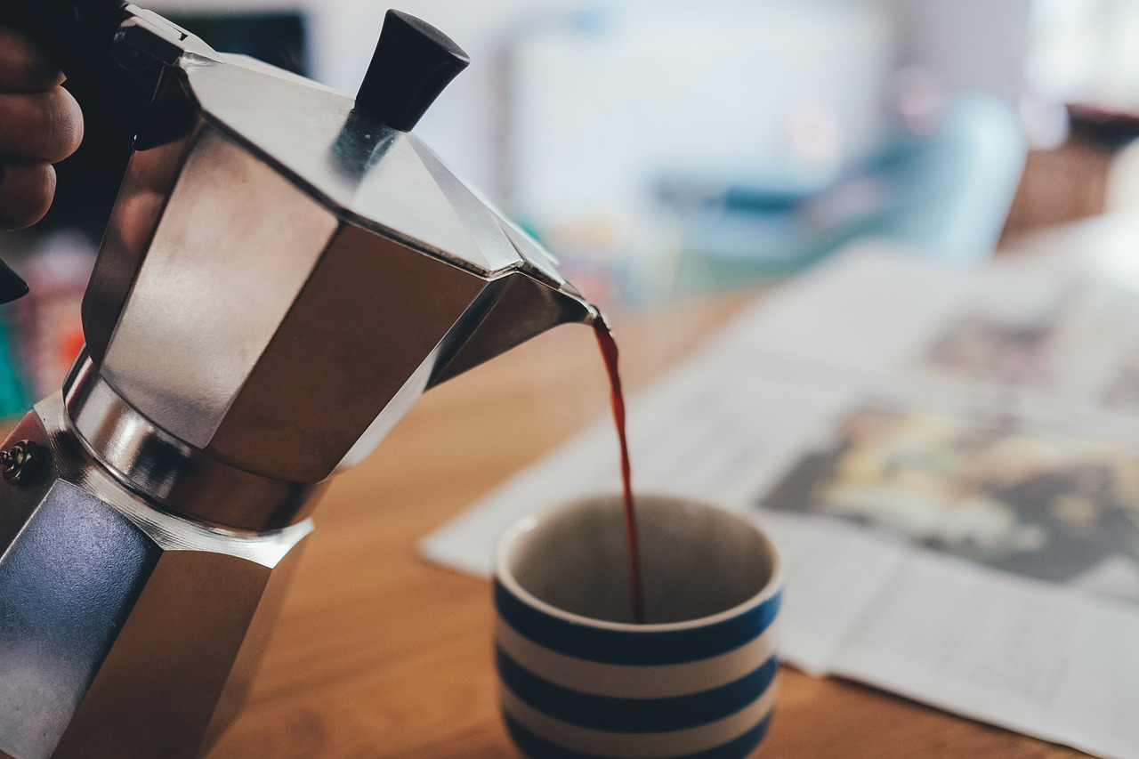 Borra de café para exfoliar